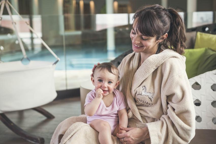 Family Spa Grand Hotel Cavallino Bianco - OFFERTA single con bambino