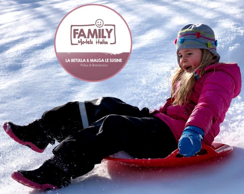Fabilia Family Hotel Polsa - Offerte speciali settimane bianche di febbraio in Trentino