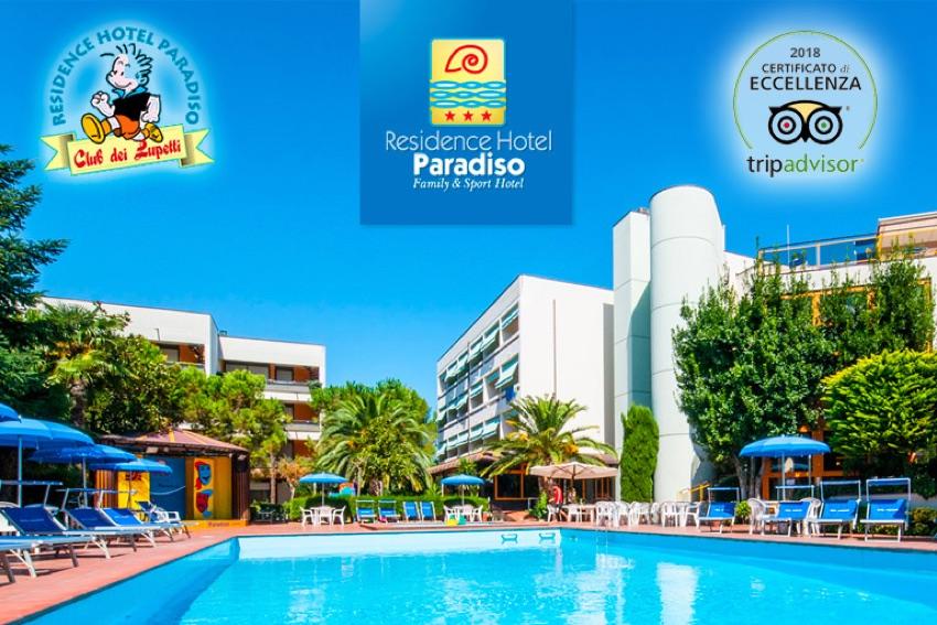 Residence Hotel Paradiso - Sconti bimbi e speciale genitori single nelle le settimane del sorriso